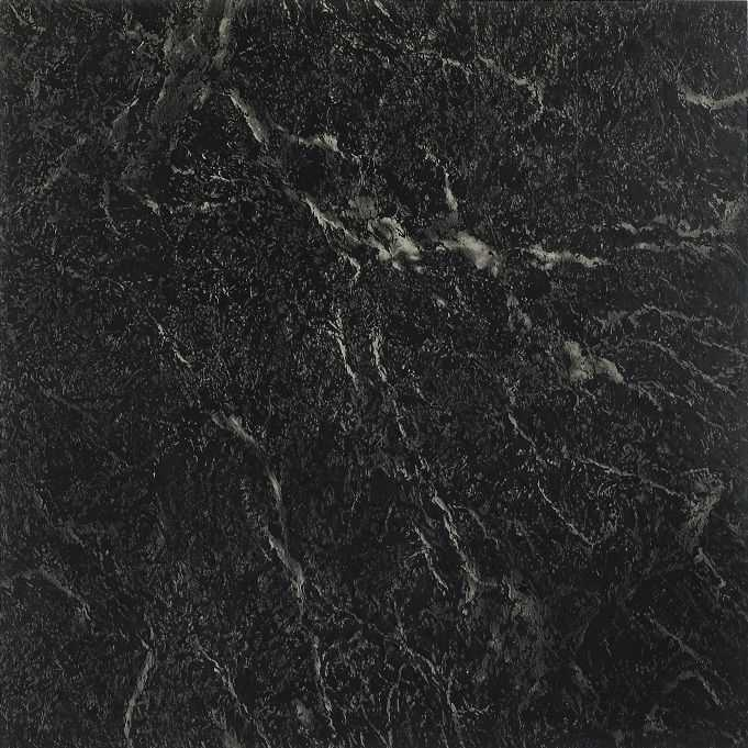 Achim Nexus Black with White Vein Marble 12x12 Self Adhesive Vinyl Floor Tile - 20 Tiles/20 sq. ft.